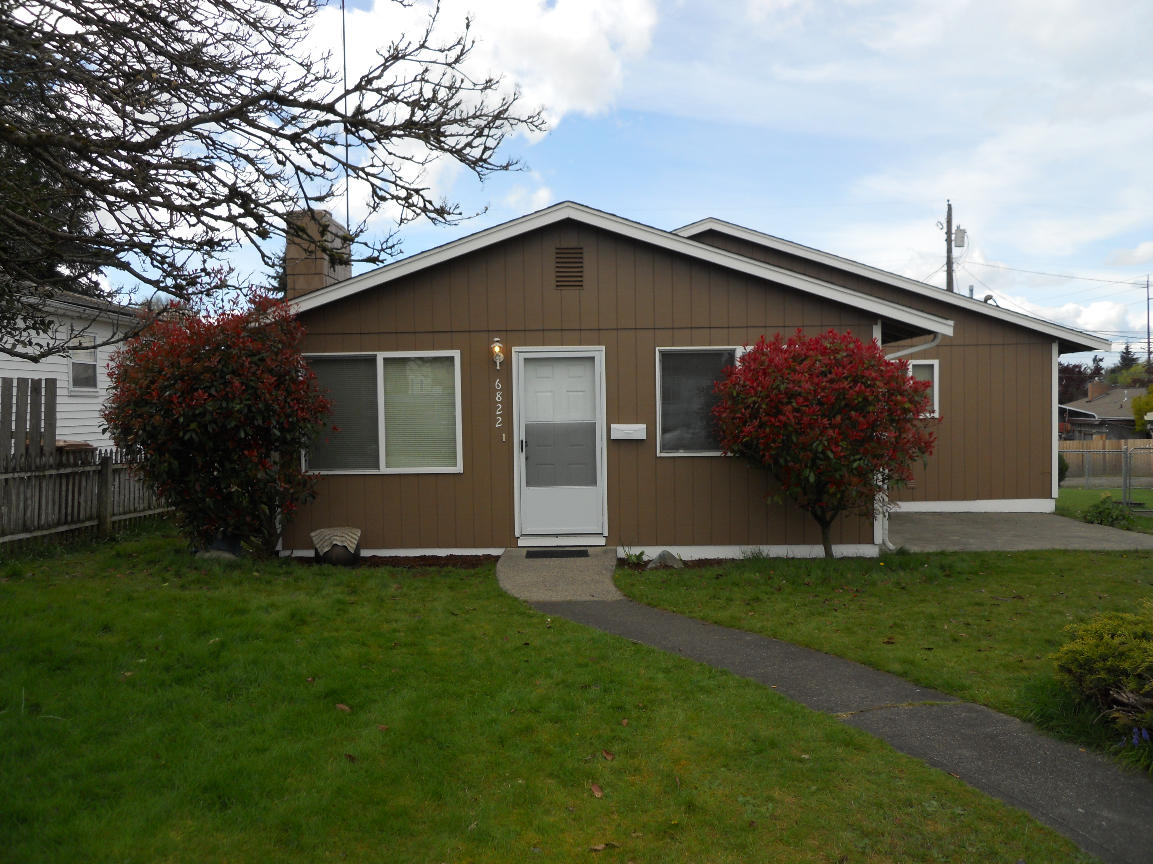 Tacoma Area Single Family 6822 S Montgomery St WA 98409