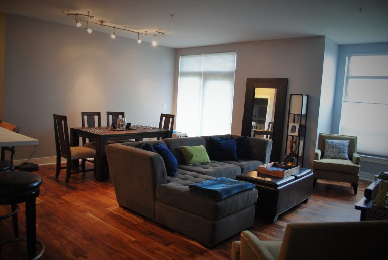 3 Dining area and living room